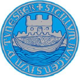 bredbånd i Tønsberg og bilde av kommunevåpen