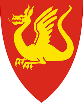 bilde av bredbånd i Stjørdal og kommunevåpen