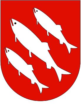 bilde av bredbånd Florø og kommunevåpen